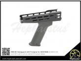 Hephaestus AMD-65 Handguard with Foregrip