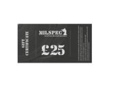 Milspec £25 Gift Voucher