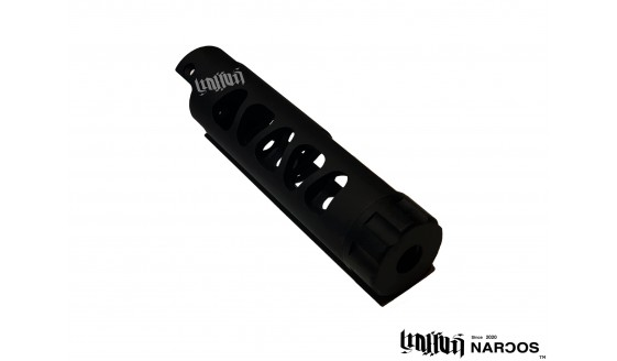 NARCOS Airsoft AAP-01 Type 3 Barrel Black