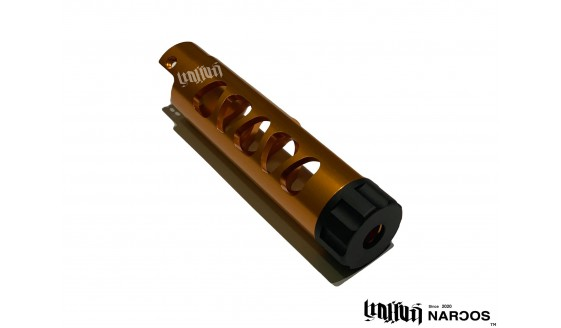 NARCOS Airsoft AAP-01 Type 3 Barrel Gold